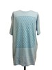 WIRE OVER SIZE SHORT SLEEVES -LIGHT BLUE-