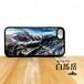 白馬岳 稜線 強化ガラス iphone Galaxy スマホケース アウトドア 登山 山 北アルプス