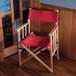 Tabi Obi Air Chair Jockey Red (オビ チェア・ジョッキーレッド)