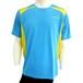 【DOUBLE3(ダブルスリー / ダブル3)】 メンズ (Men's) DW-3280 ライトブルー ランニングTシャツ