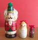 プレゼントに♪くるみ割り人形とクララのマトリョーシカ・ミニ緑