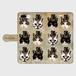 ハット×猫 手帳型スマホケース/Plus/Lサイズ