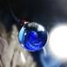 ガラスの惑星宇宙ペンダント/【訳あり、試作品】20210126-1