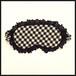 フリフリ eyemask♥(ギンガムチェックblack)