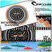 U03-961 リップカール 人気ブランド タオル ラウンドタオル ビーチ 海 プール スポーツタオル ユニセックス ギフトROUND TOWEL BLACK SANDS RIP CURL