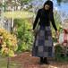 20s-073  ザッパ×ルシエル  パッチワーク風スカート