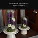 ガラスドームがホコリから守ってくれます。フルリール仏花~エトワール(小)~