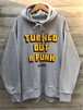 TURNED OUT A PUNK/SIDE ZIP SWEAT col.gry