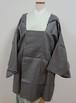 黒と灰色の矢羽模様 和装コート