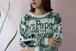 80's newspaper knit