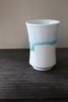 アートを感じる美しい陶器 作家【西 隆行 / Nishi Takayuki】雫タンブラーグラス No.1