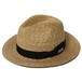 STRAW HAT- CHOPPED (NATURAL) / RUDE GALLERY