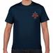 ソーシャルディスタンス Tシャツ Navy