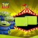InfoThink ラップトップ Disney トイ・ストーリー4 タブレット PCケース リトル・グリーンメン iNB(Alien)