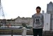 ARIGATO OKUMA カレッジTシャツ/グレー