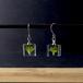 ブロッコリーのフックピアス チタン(無料ギフトラッピング, メッセージカード, 誕生日プレゼント, 送料無料)