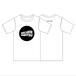 ウェーブロゴTシャツ(ホワイト × ブラック)