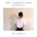 SIRUP × APARTMENT T-SHIRT