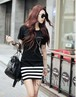 ファッションロマンチックワンピ ブラック