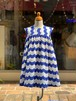 KIDS:melt【メルト】ウェーブサマードレス(BLUE/100〜120cm)ワンピース