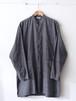 FUJITO Shirt Coat Gray,Blue