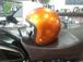 ジェットヘルメット オレンジラメ フリーサイズ
