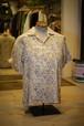 Men's / open collar SHIRT of floral pattern