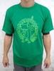 蛙スプーンキャラTシャツ GREEN / DRY