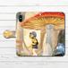 #080-028 手帳型iPhoneケース 手帳型スマホケース 全機種対応 iPhoneXS/X おしゃれ ファンタジー Xperia iPhone5/6/6s/7/8 かわいい きのこ Galaxy ARROWS AQUOS HUAWEI Zenfone タイトル:雨上がり 作:星宮あき