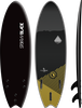Storm Blade 6ft Swallow Tail Surfboard / Black