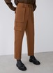 CARGO TROUSERS WITH MAXI POCKETS
