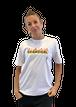 【SKANDHAL】FIAMMA Tシャツ【ホワイト】【再入荷】イタリアンウェア《M&W》