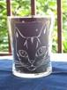 猫グラスシリーズ「キジトラキャット / We love Tabby!」定番キジトラ猫!(ご希望のお名前を入れることもできます)