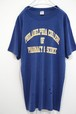 1980's Champion フィラデルフィア カレッジプリントTシャツ 実寸(L位) チャンピオン