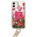 iPhoneケース ショルダー ベージュ(champ de fleurs10)