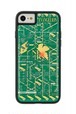 FLASH NERV 基板アート iPhone7/8ケース 緑【東京回路線図A5クリアファイルをプレゼント】