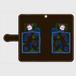 ✳️受注生産✳️ 手帳型Androidケース くらやみスマホ依存