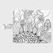 手帳型(帯あり)サイズ(M):kazue.M_008(地(ち))