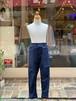 KIDS&ADULT:highking【ハイキング】bent pants(インディゴ/130〜160cm)ストレッチデニム