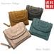 New Arrival ピソラロ Pisoraro かがりミニウォレット 三つ折り財布 ミニ財布 コンパクト プレゼント 4color 送料無料
