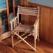 [限定カラー]Tabi Obi Air Chair LoveWood RedWood Stripe (オビ チェア・レッドウッドストライプ)