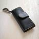 keycase -無垢材と本革のキーケース- ウォールナット×ブラック