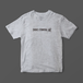 格闘技 三角絞め(トライアングルチョーク)逆さTシャツ(ライトグレー)【数量限定】