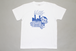 """ HOUSE OF ""  TEE SH   -WHTxBLU-"