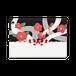 【パスケース】椿とアオダイショウ