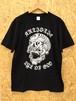 『Tibetan skull』T-shirt Black