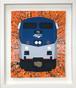 Amtrak GE-P42DC オリジナル原画 キャンバスにアクリル絵具