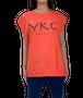 【YKG】CANOTTA タンクトップ【オレンジ】【新作】イタリアンウェア《M&W》