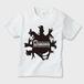 KIDS_Tシャツ (手影絵動物・ホワイト)