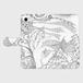 手帳型スマホケース iPhone8:kazue.M_007(大丈夫だよ)